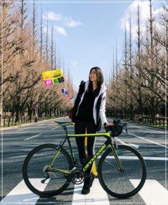 福田萌子,ロートバイク,画像