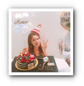わちまりな,誕生日,ケーキ,画像