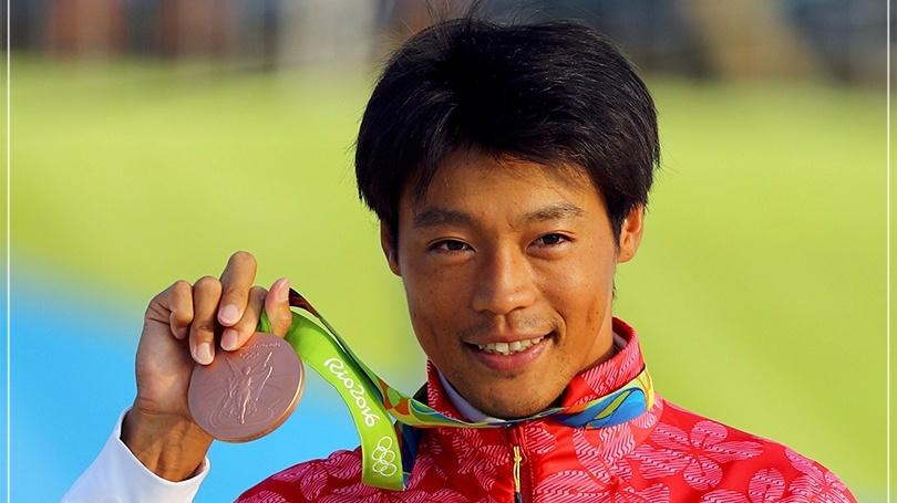 男性,メダル