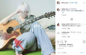 女性,ギター,画像