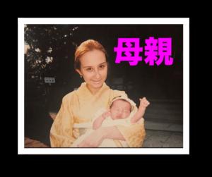 女性,赤ちゃん